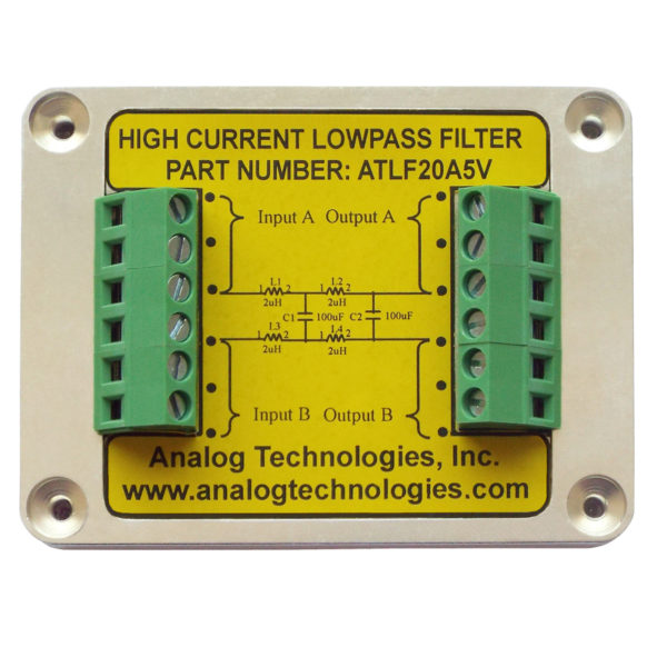 lasr driver,diode laser driver,high current low pass filter