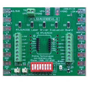 laser driver,diode laser driver,low noise laser driver,laser driver evaluation board