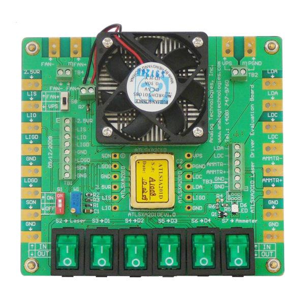 laser driver evaluation board,laser driver,diode laser driver