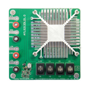 laser driver,diode laser driver,laser driver evaluation board,laser driver load assembly