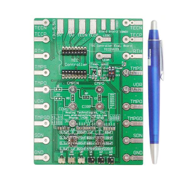 TEC Controller,TEC Controllers,Peltier Controller,Temperature Controllers,Evaluation Board